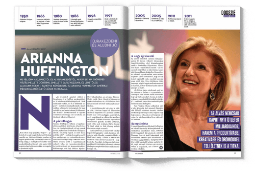 HVG Extra Business 4 - Arianna Huffington